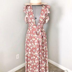Long boohoo maxi dress